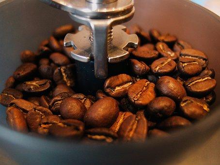 Coffee Beans, Grinder, Coffee, Bean, Cafe, Caffeine
