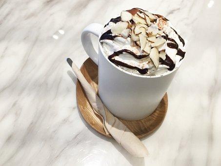 Cafe Mocha, Coffee, Food, Dessert, Cafe, Bean