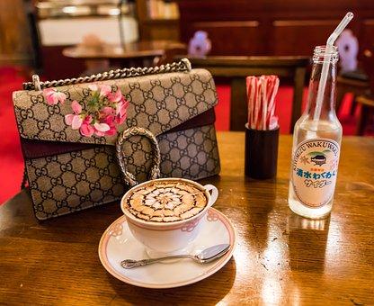 Coffee, Gourmet, Food, Restaurant, Beverage, Gucci