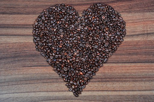 Coffee, Coffee Beans, Coffee Pictures, Heart