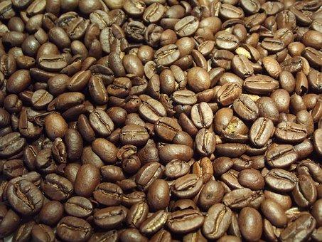 Coffee, Beans, Coffee Beans, Caffeine, Brown, Roasted