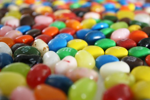 Candy, Jelly Beans, Sugar, Colorful, Sweet, Treat, M M