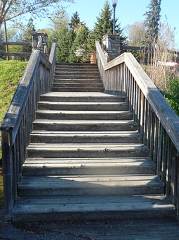 Steps, Stairs, Staircase, Stairway, Direction, Rise