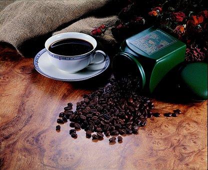 Coffee Beans, Fine Delicate Cuisine, Mug