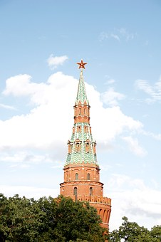 Kremlin, Golden, Dome, Russia, Moscow, Orthodox