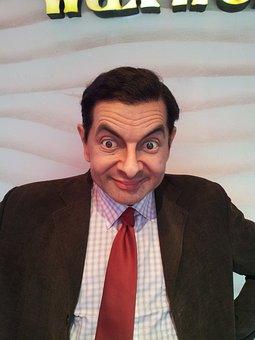 Mr Bean, Wax, Statue