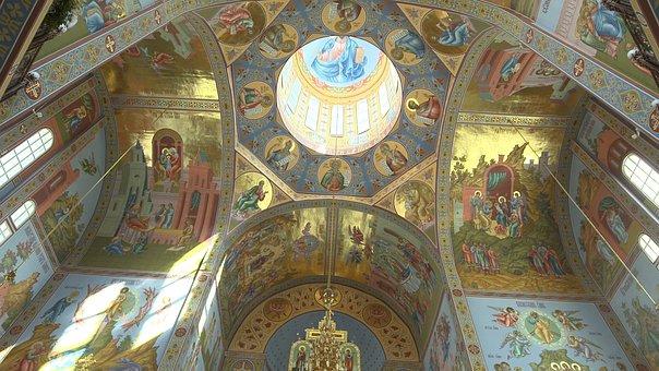 Almaty, Kazakhstan, Russian, Orthodox, Church, Travel