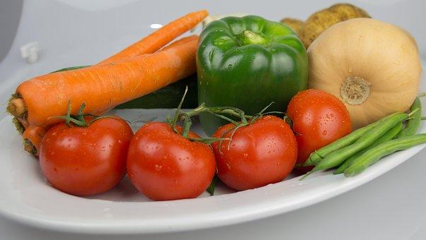Peppers, Vegetables, Vegetable Garden, Food, Restaurant