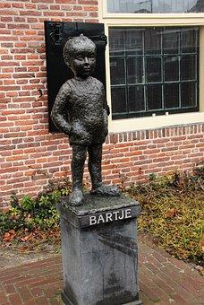 Bartje, Image, Statue, Kidney Beans, Assen, Drenthe