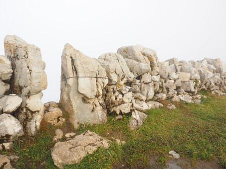 Dry Stone Wall, Wall, Passage, Stone Wall, Creux Du Van