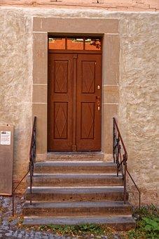 Wooden Door, Door, Old, Wood, Input, House Entrance