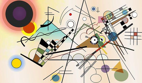 Wassily Kandinsky, Composition Viii, 1923, Art, Moder