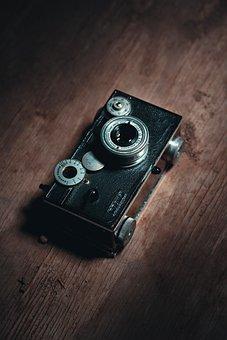 Camera, Vintage, Photography, Film, Retro, Old, Classic