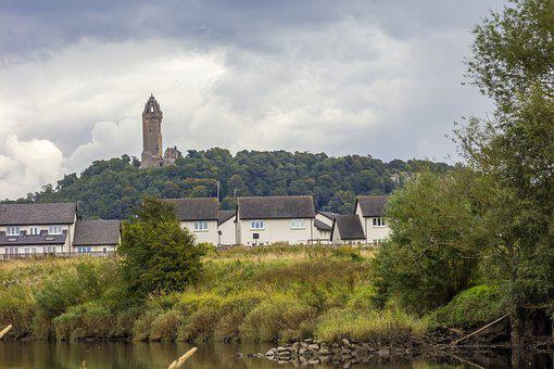 Wallace Monument, Monument, Tower, Statue, Medieval