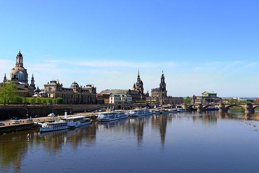 Europe, Germany, Saxony, Dresden, City