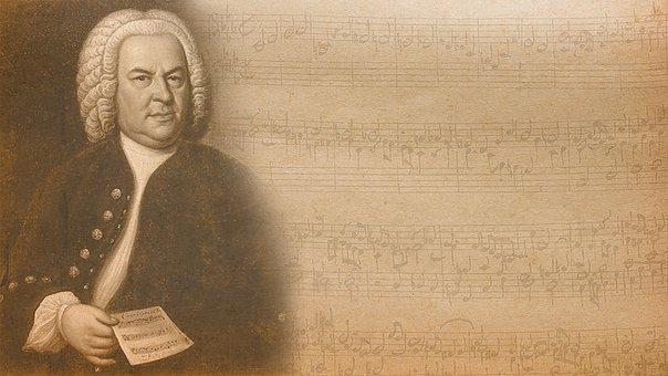 Bach, Music, Notes, Classic, Fugue, Antiquity, Antique