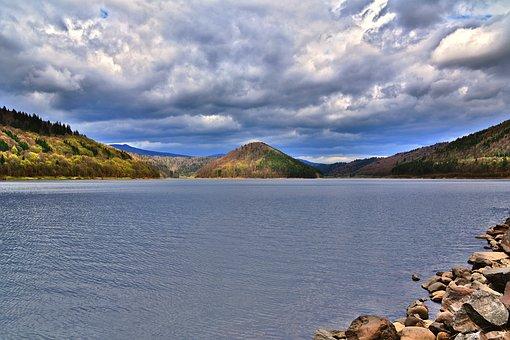 To Wait, Zetea, Lake, Landscape, Water, Nature