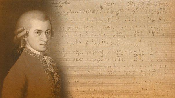 Mozart, Music, Notes, Classic, Requiem, Antiquity