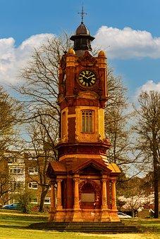 Preston Park, Clocktower, Architecture, Landmark, Clock