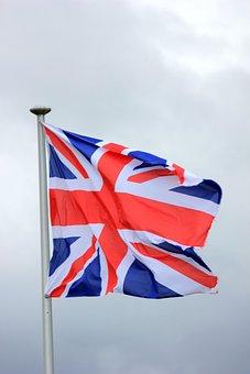 Flag, United Kingdom, Sky, England, National Flag
