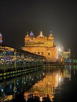 Golden Temple, Amritsar, Punjab, Sikh, India, Sikhism