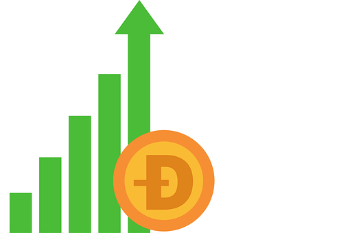 Dogecoin, Currency, Money, Price, Rise, Hike