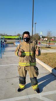 Firefighter, Uniform, Service, Fire, Department