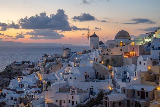 Santorini, Holidays, Greece, Summer, Landscape, Holiday