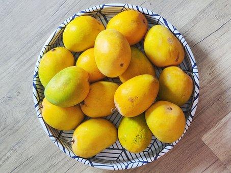 Mangoes, Fruit, Food, Produce, Organic, Delicious