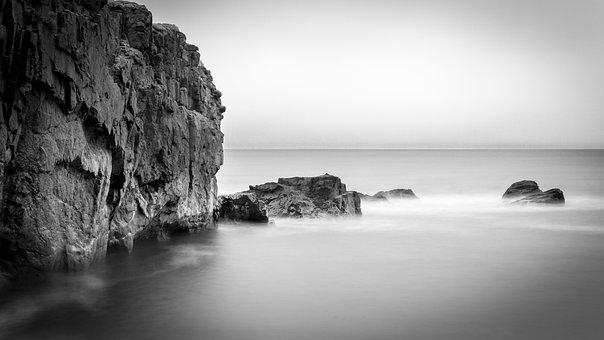 Cliff, Coast, Sea, Ocean, Water, Rock Formation