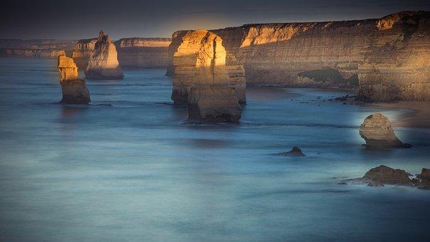 Cliffs, Coast, Sea, Ocean, Water, Rock Formation