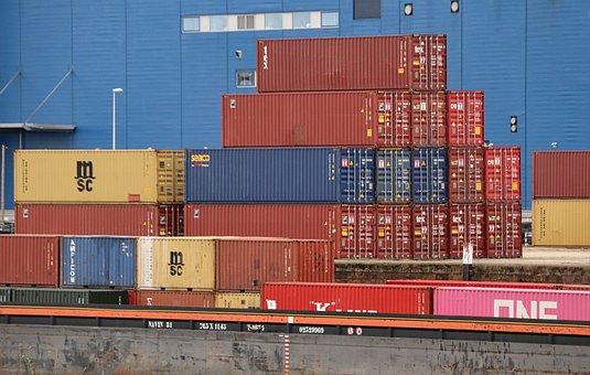 Ship, Container, Cargo, Port, Docker, Transport