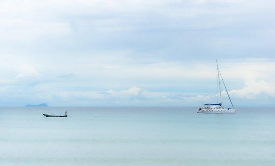 Boats, Ocean, Travel, Ship, Sailing, Sea, Water