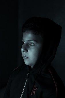 Thinking, Brain, Mind, Think, Children, Light, Boy, Kid