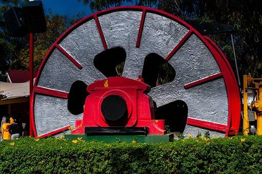 Wheel, Carnival, Theme Park, Play, Kids, Entertainment