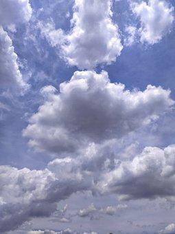 Sky, Clouds, Atmosphere, Cumulus, Cloudy, Cloudscape