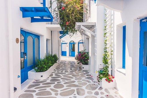 Santorini, Houses, Architecture, Greece, Buildings