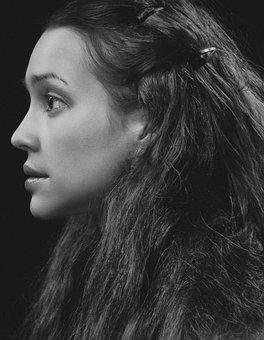 Girl, Portrait, Face, Long Hair, Brunette, Young Woman