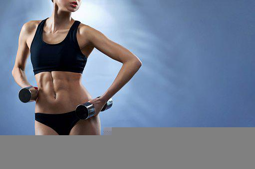 Woman, Fitness, Six Pack Abs, Girl, Muscles, Strong
