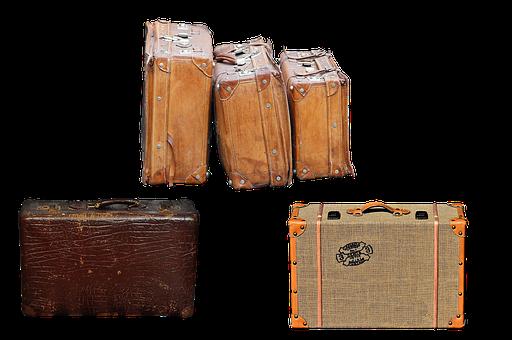 Luggage, Travel, Bag, Baggage, Vintage, Tourism