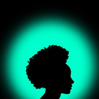 Women, Silhouette, People, Shadow, Color