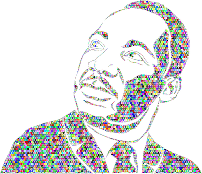 Dr Martin Luther King Jr, African American, Black