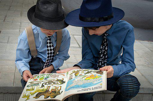 Boys, Book, Read, Reading, Learn, Learning, Young Boys
