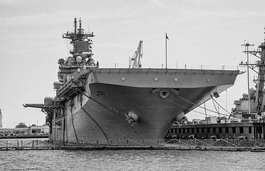 Ship, Navy, Port, Dock, Battleship, Military, Repair