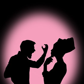 Women, Silhouette, People, Shadow, Color Man