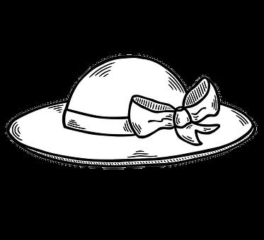 Sun Hat, Wear, Fashion, Summer, Hat, Costume, Bow