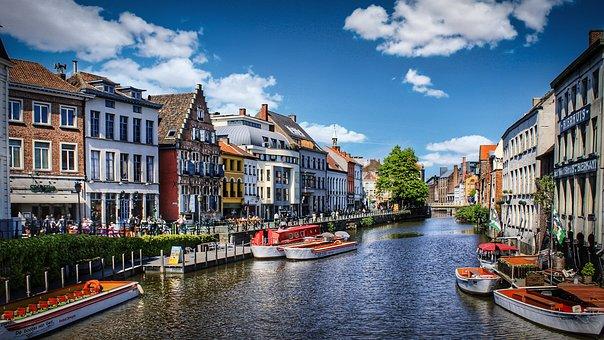 Ghent, Belgium, Europe, Architecture, Travel, Tourism