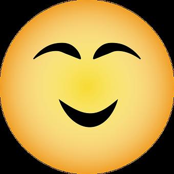Emoji, Happy Emoji, Smiley, Happy, Face, Smile, Cartoon