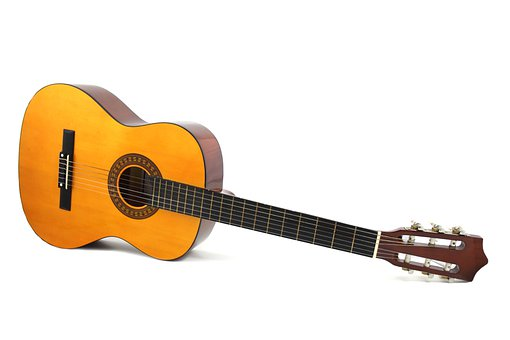 Guitar, Instrument, Isolated, Music, Musical Instrument