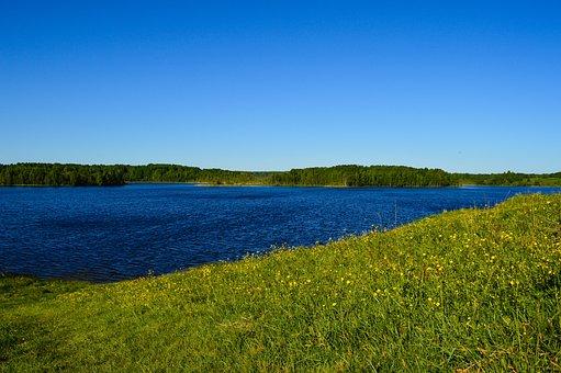 Nature, Beach, Island, Sea, Lake, Blue, Bright, Summer